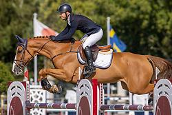 Thiry Manuel, BEL, Liza <br /> Belgian Championship 6 years old horses<br /> SenTower Park - Opglabbeek 2020<br /> © Hippo Foto - Dirk Caremans<br />  13/09/2020