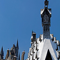 USA, Florida, Orlando. Wizarding World of Harry Potter at Universal Islands of Adventure.