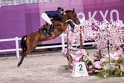 Fredricson Peder, SWE, All In, 387<br /> Olympic Games Tokyo 2021<br /> © Hippo Foto - Dirk Caremans<br /> 07/08/2021