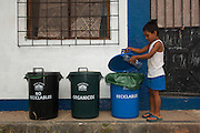 Recycle Center for Town or Puerto Ayora.  All glass, plastic, bottles and cardboard are recycled and sent to the mainland for re-processing.<br /> Santa Cruz Island<br /> Galapagos Islands<br /> ECUADOR.  South America
