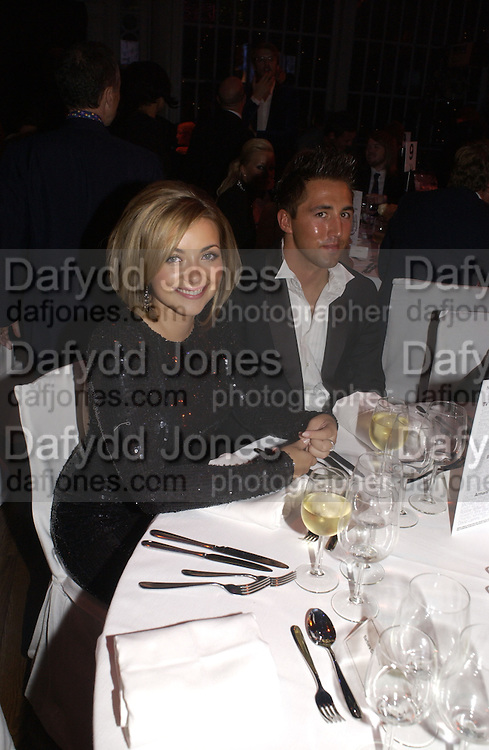 Charlotte Church and Gavin Henson. GQ Men Of The Year Awards at the Royal Opera House, London. September 6, 2005 in London, England, ONE TIME USE ONLY - DO NOT ARCHIVE  © Copyright Photograph by Dafydd Jones 66 Stockwell Park Rd. London SW9 0DA Tel 020 7733 0108 www.dafjones.com