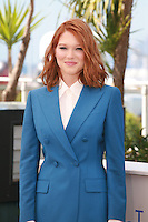 Lea Seydoux at the photo call for the film Saint Laurent at the 67th Cannes Film Festival, Saturday 17th May 2014, Cannes, France.