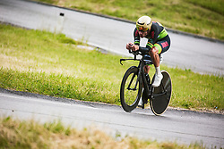 Nik Cemazar during Slovenian Road Cycling Championship in time trial 2020 on June 28, 2020 in Zg. Gorje - Pokljuka, Slovenia. Photo by Peter Podobnik / Sportida.