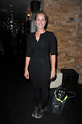 HOLLY BRANSON at a screening hosted by 'The Volunteer' of a documentary film of work in Haiti, held at the Courthouse Hilton Hotel, 19-21 Great Malborough Street, London on 29th March 2011.
