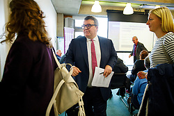 © Licensed to London News Pictures. 28/01/2017. London, UK. Labour Party deputy leader TOM WATSON speaks at Co-operative Party economy conference at Coin Street Neighbourhood Centre in London on Saturday, 28 January 2017. Photo credit: Tolga Akmen/LNP