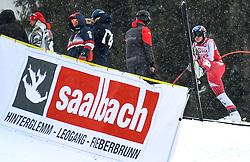 14.02.2020, Zwölferkogel, Saalbach Hinterglemm, AUT, FIS Weltcup Ski Alpin, Super G, Herren, im Bild Matthias Mayer (AUT) // Matthias Mayer of Austria reacts after his run for the men's SuperG of FIS Ski Alpine World Cup at the Zwölferkogel in Saalbach Hinterglemm, Austria on 2020/02/14. EXPA Pictures © 2020, PhotoCredit: EXPA/ Erich Spiess