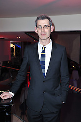 Costa Biography Award Winner 2010 EDMUND DE WAAL Ð The Hare With Amber Eyes, at the Costa Book Awards 2010 held at Quaglino's, 16 Bury Street, London on 25th January 2011.<br /> Costa Biography Award Winner 2010 EDMUND DE WAAL – The Hare With Amber Eyes, at the Costa Book Awards 2010 held at Quaglino's, 16 Bury Street, London on 25th January 2011.
