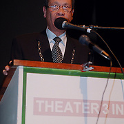 Nieuwjaarsreceptie gemeente Huizen 2000, nieuwjaartoespraak burgemeester Verdier