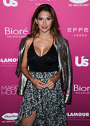 MANHATTAN, NEW YORK CITY, NY, USA - SEPTEMBER 12: US Weekly's Most Stylish New Yorker Party 2018 held at the Magic Hour Rooftop Bar. 12 Sep 2018 Pictured: Hilaria Baldwin. Photo credit: Image Press Agency/MEGA TheMegaAgency.com +1 888 505 6342