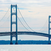 A High Resolution Of The Engineering That Makes The Mackinac Bridge Unique