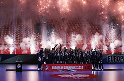 EHF Euro 2020 Gold Medal match between France and Norway in Jyske Bank Boxen, Herning, Denmark on December 20, 2020. Photo Credit: Allan Jensen/Lars Jørgensen/EVENTMEDIA.
