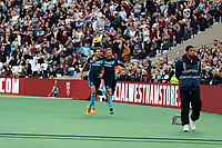 Football - 2016 / 2017 Premier League - West Ham United vs. Middesborough <br /> <br /> Christian Stuani of Middlesborough  and team mate Viktor Fischer celebrate Middlesborough taking the lead at The London Stadium.<br /> <br /> COLORSPORT/DANIEL BEARHAM
