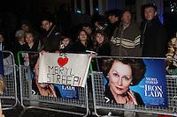 The Iron Lady UK Premiere
