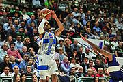 DESCRIZIONE : Campionato 2014/15 Dinamo Banco di Sardegna Sassari - Enel Brindisi<br /> GIOCATORE : David Logan<br /> CATEGORIA : Tiro<br /> SQUADRA : Dinamo Banco di Sardegna Sassari<br /> EVENTO : LegaBasket Serie A Beko 2014/2015<br /> GARA : Dinamo Banco di Sardegna Sassari - Enel Brindisi<br /> DATA : 27/10/2014<br /> SPORT : Pallacanestro <br /> AUTORE : Agenzia Ciamillo-Castoria / M.Turrini<br /> Galleria : LegaBasket Serie A Beko 2014/2015<br /> Fotonotizia : Campionato 2014/15 Dinamo Banco di Sardegna Sassari - Enel Brindisi<br /> Predefinita :