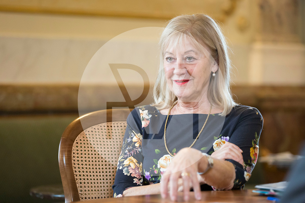 SCHWEIZ - BERN - Interview mit Nationalrätin Susanne Leutenegger Oberholzer, SP, in der Wandelhalle des Bundeshauses - 29. November 2018 © Raphael Hünerfauth - http://huenerfauth.ch