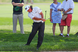August 26, 2018 - Paramus, NJ, U.S. - PARAMUS, NJ - AUGUST 26:  Pat Perez plays his shot from off the 16th fairway during the final round of The Northern Trust on August 26, 2018 at the Ridgewood Championship Course in Ridgewood, New Jersey. (Photo by Rich Graessle/Icon Sportswire) (Credit Image: © Rich Graessle/Icon SMI via ZUMA Press)