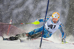 21.12.2011, Hermann Maier Weltcup Strecke, Flachau, AUT, FIS Weltcup Ski Alpin, Herren, Slalom 1. Durchgang, im Bild Andre Myhrer (SWE) in Aktion //  Andre Myhrer of Sweden in action during Slalom race 1st run of FIS Ski Alpine World Cup at 'Hermann Maier World Cup' course in Flachau, Austria on 2011/12/21. EXPA Pictures © 2011, PhotoCredit: EXPA/ Johann Groder
