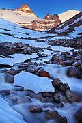 Fryingpan Creek in winter