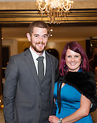 Donal Glackin and Denise Maher  at the Gorta Self Help Africa Annual Ball in Hotel Meyrick Galway City. Photo: Andrew Downes, XPOSURE.