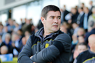 Burton Albion manager Nigel Clough during the EFL Sky Bet Championship match between Burton Albion and Leeds United at the Pirelli Stadium, Burton upon Trent, England on 22 April 2017. Photo by Richard Holmes.