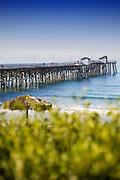 San Clemente Pier Vertical Photo