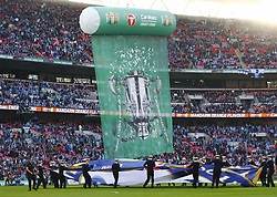 February 24, 2019 - London, England, United Kingdom - Banner .during during Carabao Cup Final between Chelsea and Manchester City at Wembley stadium , London, England on 24 Feb 2019. (Credit Image: © Action Foto Sport/NurPhoto via ZUMA Press)