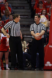 08 February 2018:  Paul Janssen and Jeff Campbell during a College mens basketball game between the Southern Illinois Salukis and Illinois State Redbirds in Redbird Arena, Normal IL