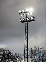 AMSTELVEEN - Lichtmast    tijdens de hoofdklasse hockeywedstrijd AMSTERDAM-ORANJE ROOD (4-5).  COPYRIGHT KOEN SUYK