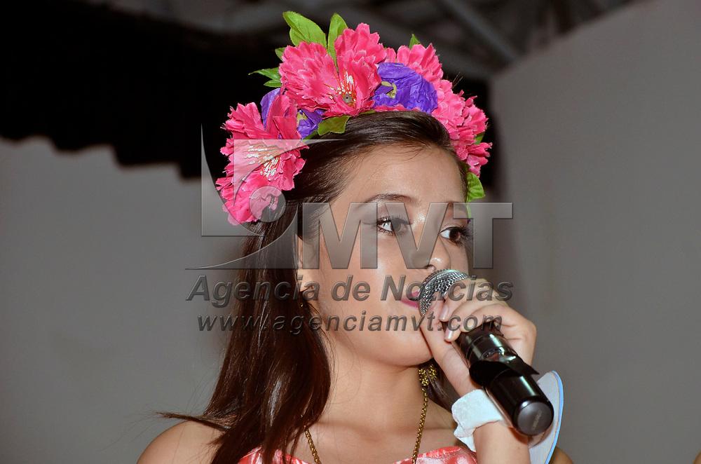 METEPEC, Mexico (Agosto 07, 2017).-  Ivana García, de 14 años de edad y también originaria de Toluca, logro el segundo lugar del certamen de belleza Miss Teen Universe Estado de México 2017, final que se llevó acabo en el auditorio del museo del barro en el pueblo mágico de Metepec. Agencia MVT. José Hernández.