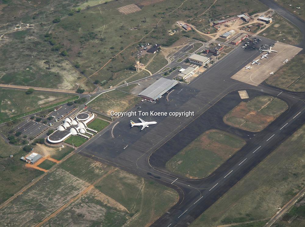 A plane of Burundi airways in Bujumbura