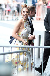British Soap Awards, Saturday 3rd June 2017<br /> <br /> Stars arrive on the red carpet for the British Soap Awards 2017<br /> <br /> Lucy Jo Hudson and Alan Halsall arrive<br /> <br /> (c) Alex Todd | Edinburgh Elite media