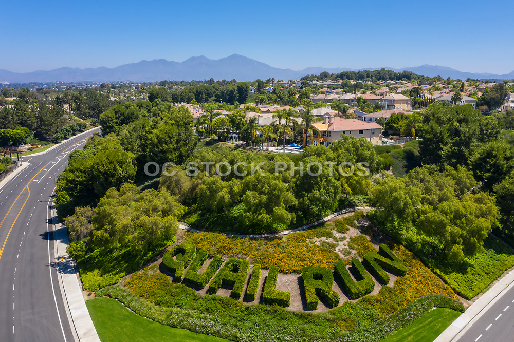 Aerial View of Mission Viejo Residential Neighborhood