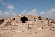 Israel, Caesarea, a town built by Herod the Great about 25 - 13 BC, The Hippodrome