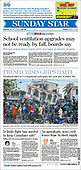 August 15, 2021 - CANADA: Front-page: Today's Newspapers In Canada