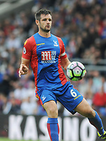 Football - 2016 / 2017 Premier League - Crystal Palace vs Stoke City<br /> <br /> Scott Dann of Crystal Palace at Selhurst Park<br /> <br /> <br /> Credit : Colorsport / Andrew Cowie