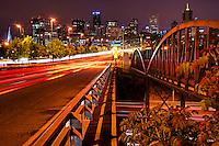 Speer Avenue @ Night, Downtown Denver