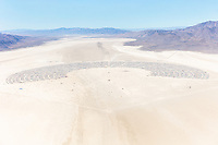 Burning Man 2019 Aerial Photo. I shot this while hanging out the window of a small Cessna. The image was shot on Friday August 31, 2019. Thank you to the pilot of the aircraft Purple Haze.