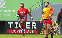 Rugby Union - 2019 / 2020 Gallagher Premiership - Leicester Tigers vs Sale Sharks<br /> <br /> Manu Tuilagi of Sale Sharks at Welford Road.<br /> <br /> COLORSPORT/LYNNE CAMERON