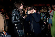 DAISY LOWE; CHRISTOPHER KANE, BFC/Vogue Designer Fashion Fund winner Christopher Kane announcement. Almada, 33 Dover Street, London,2 February 2011 -DO NOT ARCHIVE-© Copyright Photograph by Dafydd Jones. 248 Clapham Rd. London SW9 0PZ. Tel 0207 820 0771. www.dafjones.com.