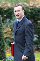 Downing Street, London, December 13th 2016. Welsh Secretary Alun Cairns arrives at the weekly meeting of the cabinet at Downing Street, London.