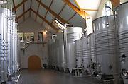 Fermentation tanks. Domaine Pascal Jolivet, Sancerre, Loire, France
