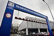 Nederland, Barneveld, 20-2-2007..Zicht op de ingang van het Transferium Barneveld Noord aan de straatzijde...Foto: Flip Franssen/Hollandse Hoogte
