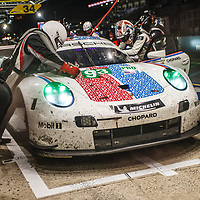 #93, Porsche GT Team, Porsche 911 RSR, LMGTE Pro, driven by: Patrick Pilet, Nick Tandy, Earl Bamber on 15/06/2019 at the Le Mans 24H 2019