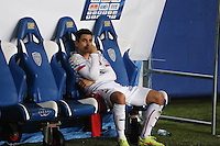 Deception Benjamin ANDRE - 13.01.2015 - Bastia / Rennes - 1/4Finale Coupe de la Ligue -<br />Photo : Michel Maestracci / Icon Sport
