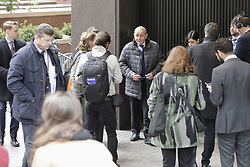 March 29, 2019 - New York, NY, United States - United Nations, New York, USA, March 29, 2019 - Jean-Yves Le Drian, Minister for Europe and Foreign Affairs of France help save the planet by walking with his Ambassador Francois Delattre and delegation to the UN Headquarters in New York for his meetings..Photo: Luiz Rampelotto/EuropaNewswire  (Credit Image: © Luiz Rampelotto/NurPhoto via ZUMA Press)