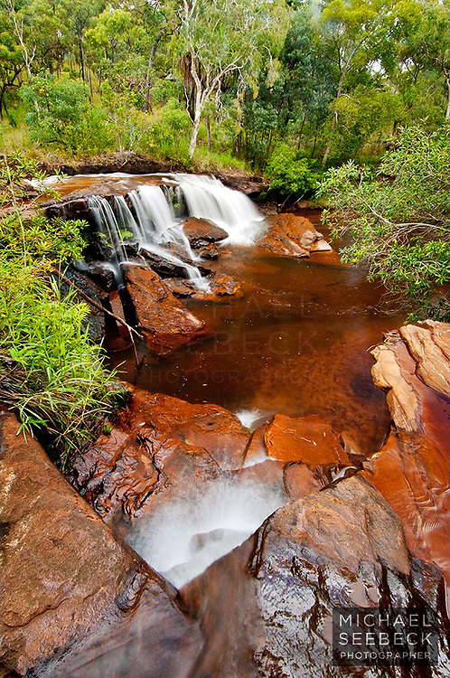 Isabella Falls on Cape York Peninsula, in the hinterland of Cooktown.<br /> <br /> Open Edition Print / Stock Image
