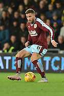Burnley midfielder Michael Knightly during the Sky Bet Championship match between Hull City and Burnley at the KC Stadium, Kingston upon Hull, England on 26 December 2015. Photo by Ian Lyall.