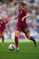 Karen Carney (England) during the FIFA Women's World Cup UEFA warm up match between England Women and New Zealand Women at the American Express Community Stadium, Brighton and Hove, England on 1 June 2019.