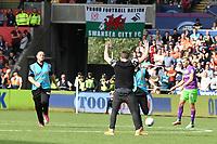 Football - 2018 / 2019 Sky Bet EFL Championship - Swansea City vs. Bristol City<br /> <br /> fan pitch invader, at Liberty Stadium.<br /> <br /> COLORSPORT/WINSTON BYNORTH