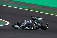 HAMILTON Lewis (Gbr) Mercedes Gp Mgp W05 action   during the 2014 Formula One World Championship, Brazil Grand Prix from November 6th to 9th 2014 in Sao Paulo, Brazil. Photo Frederic Le Floch / DPPI.